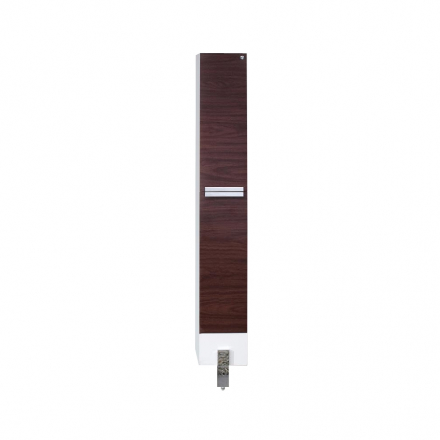 Dark Walnut Bathroom Linen Side Cabinet UVFST8110DK