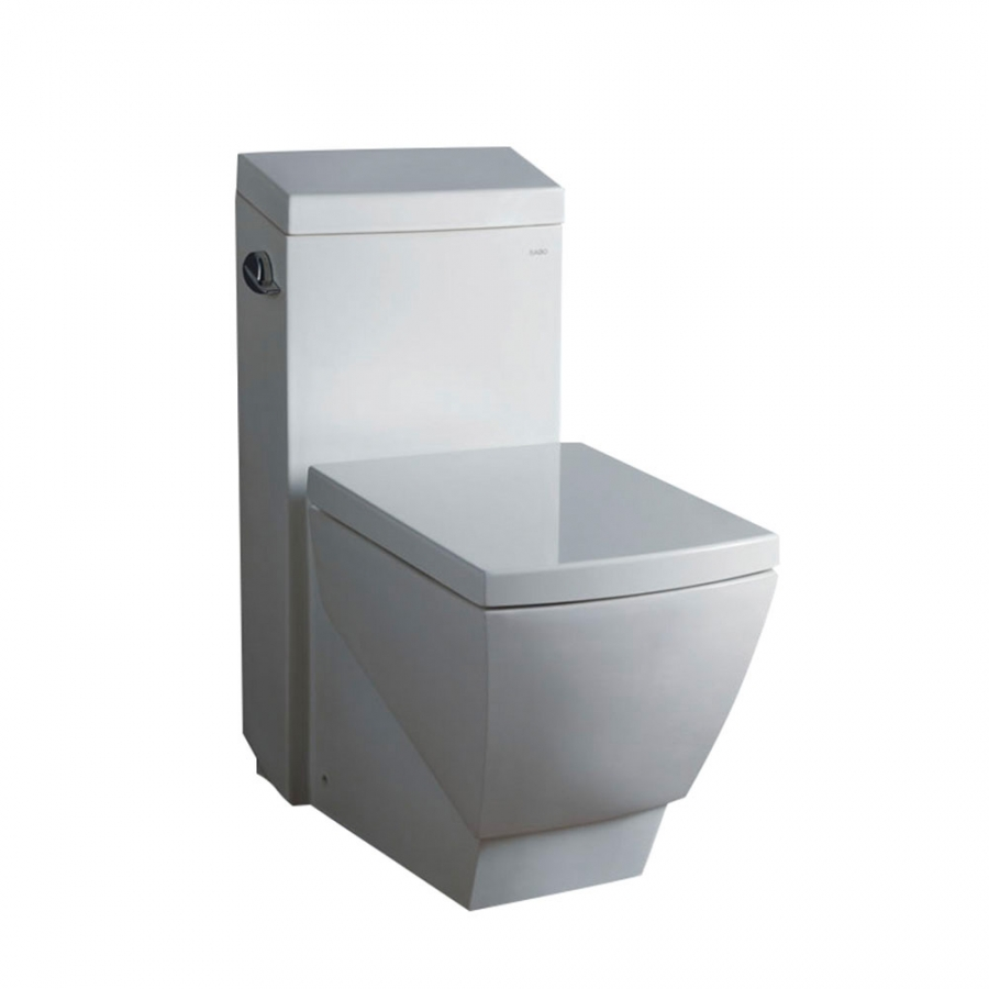 Apus One Piece Square Toilet With Soft Close Seat Uvfftl2336