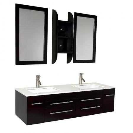 59 inch bathroom vanity