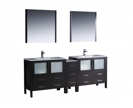 84 inch bathroom vanity cabinets 84 inch sink bathroom vanity in espresso with 21886