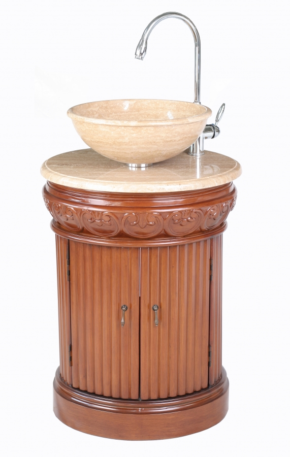 23 Inch Single Vessel Sink Bathroom Vanity Uvsh2211tr23
