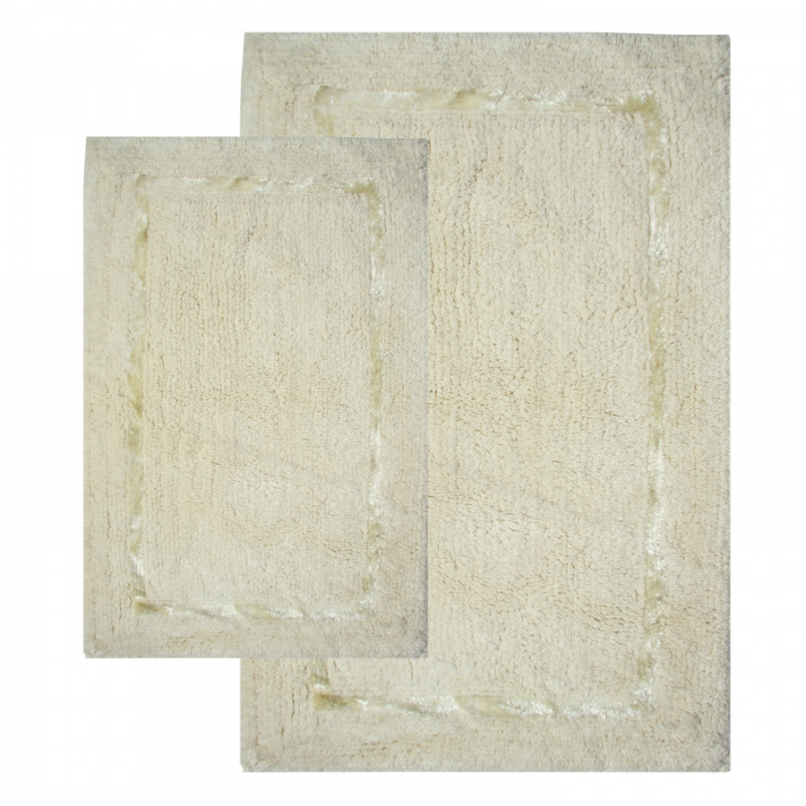 2 greenville bath rug set in vanilla uvcm35202