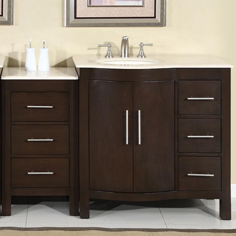 modern single bathroom vanity loading zoom