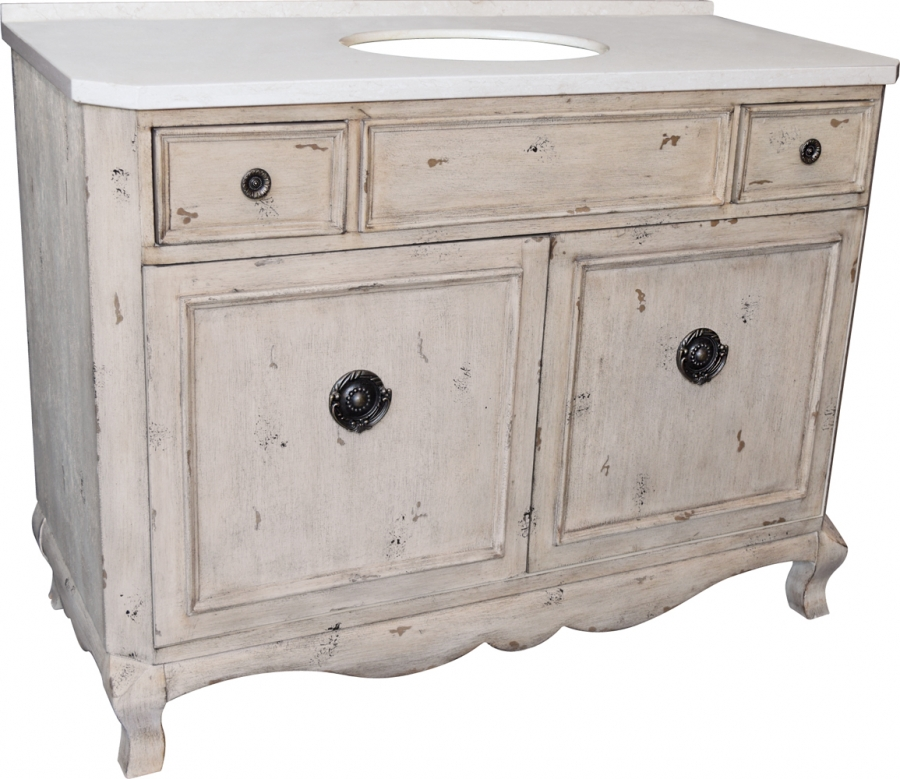 48 inch single sink bathroom vanity in aged pine uvlklk3148