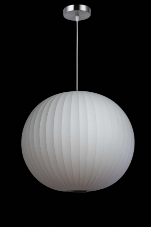 1 Light White Pendant Light Fixture UVLFLM1090627