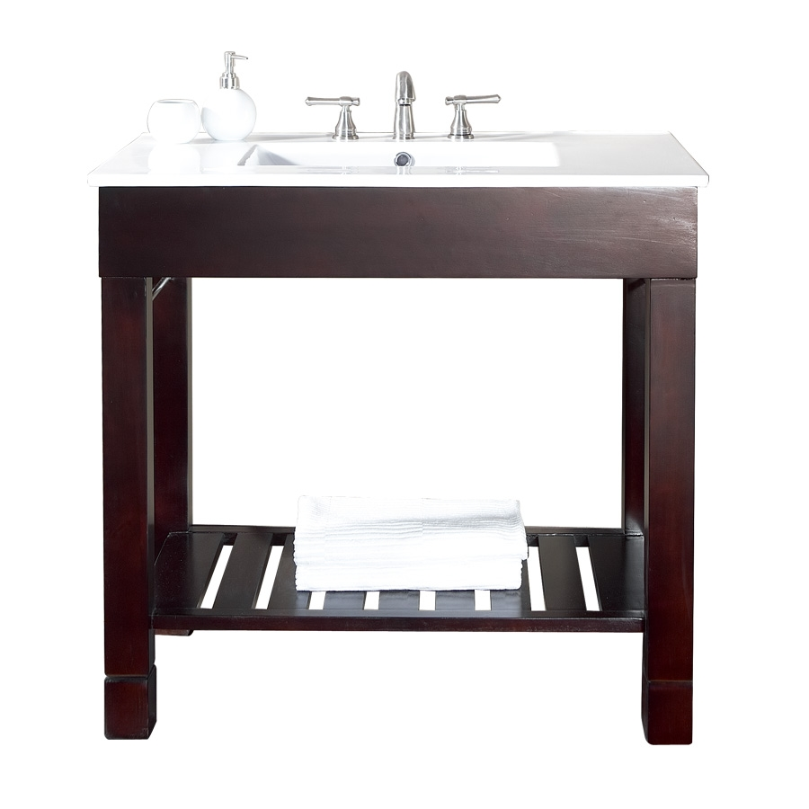 bathroom vanities without counter tops + fast free shipping!