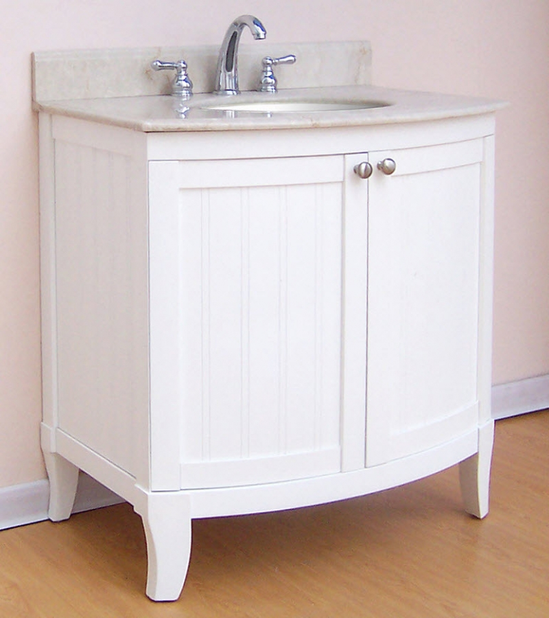 30 inch single sink modern bathroom vanity with choice of for Bathroom cabinets 30 inch