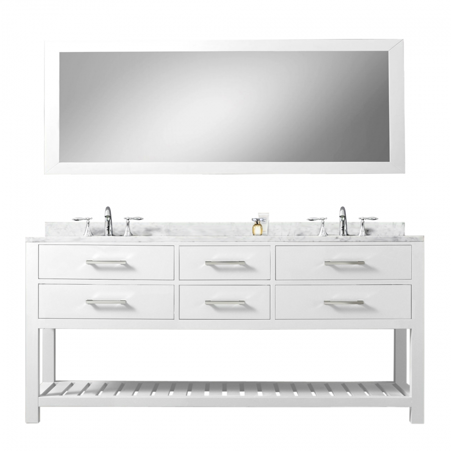 72 inch double sink bathroom vanity with soft closing - 72 inch single sink bathroom vanity ...