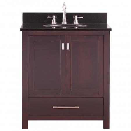 30 Inch Single Sink Bathroom Vanity In Espresso UVACMODEROV30ES30