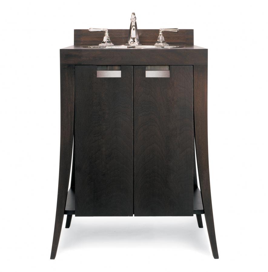 28 Inch Bathroom Vanity With Sink: 28 Inch Modern Single Sink Bathroom Vanity With Wood