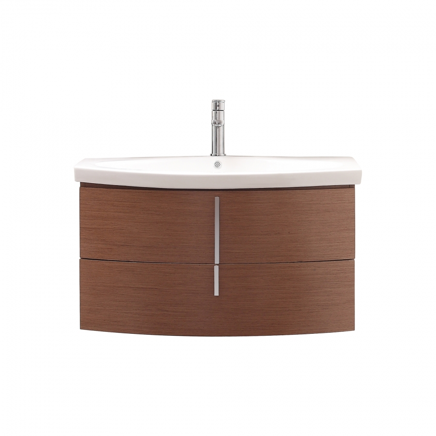 home 36 inch single sink bathroom vanity with integrated top
