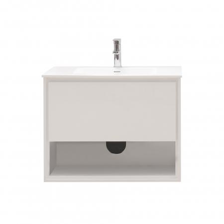 31 Inch Single Sink Bathroom Vanity In Glossy White