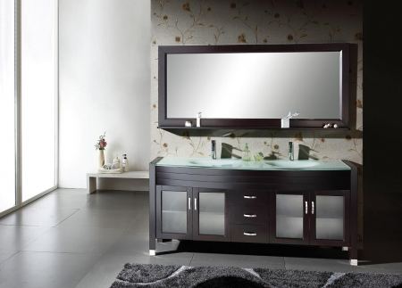 71 inch double sink bathroom vanity espresso with mirror for 71 inch double sink bathroom vanity