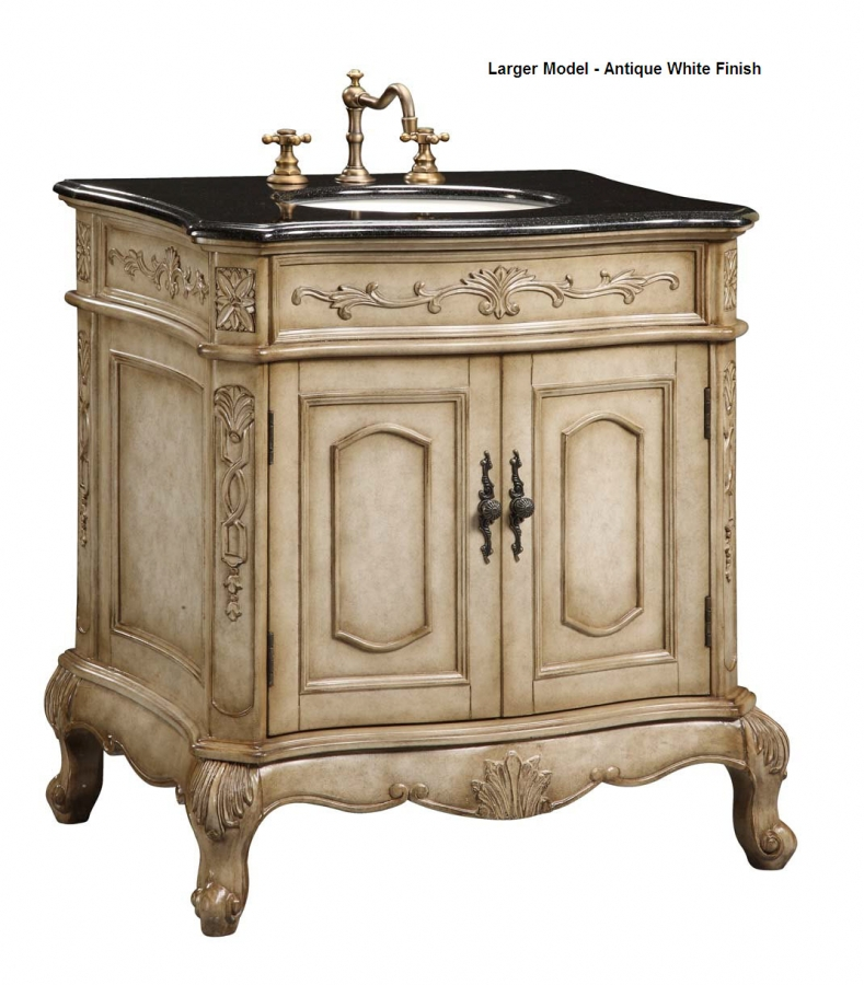 24 inch single sink furniture style bathroom vanity uveive24 - Bathroom cabinets sinks and vanities ...