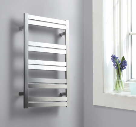Brushed Nickel Towel Warmer With 10 Warming Bars Uvvuvtw128abn