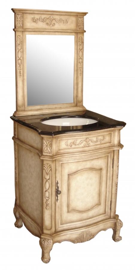 24 Inch Single Sink Furniture Style Bathroom Vanity