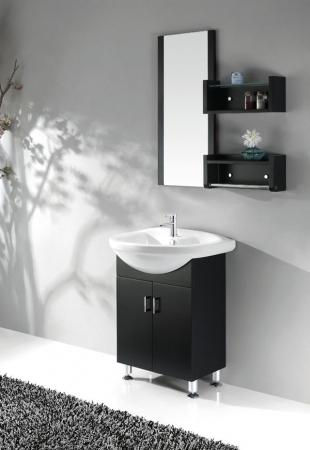 26 Inch Single Sink Bath Vanity In Black Walnut Uvlfwc30126