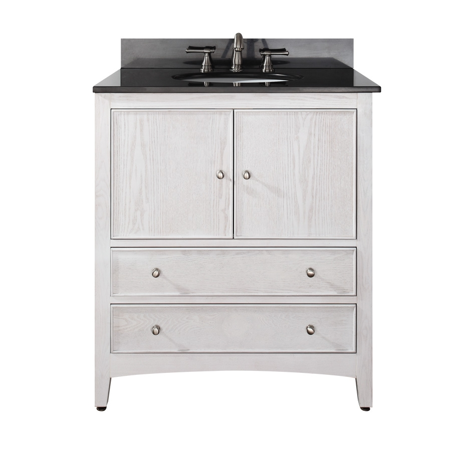 30 Inch Single Sink Bathroom Vanity With Choice Of Top