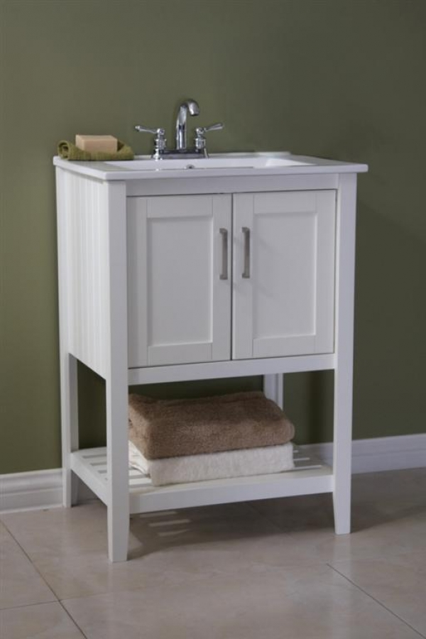 Naples 24 In W Bath Vanity Cabinet