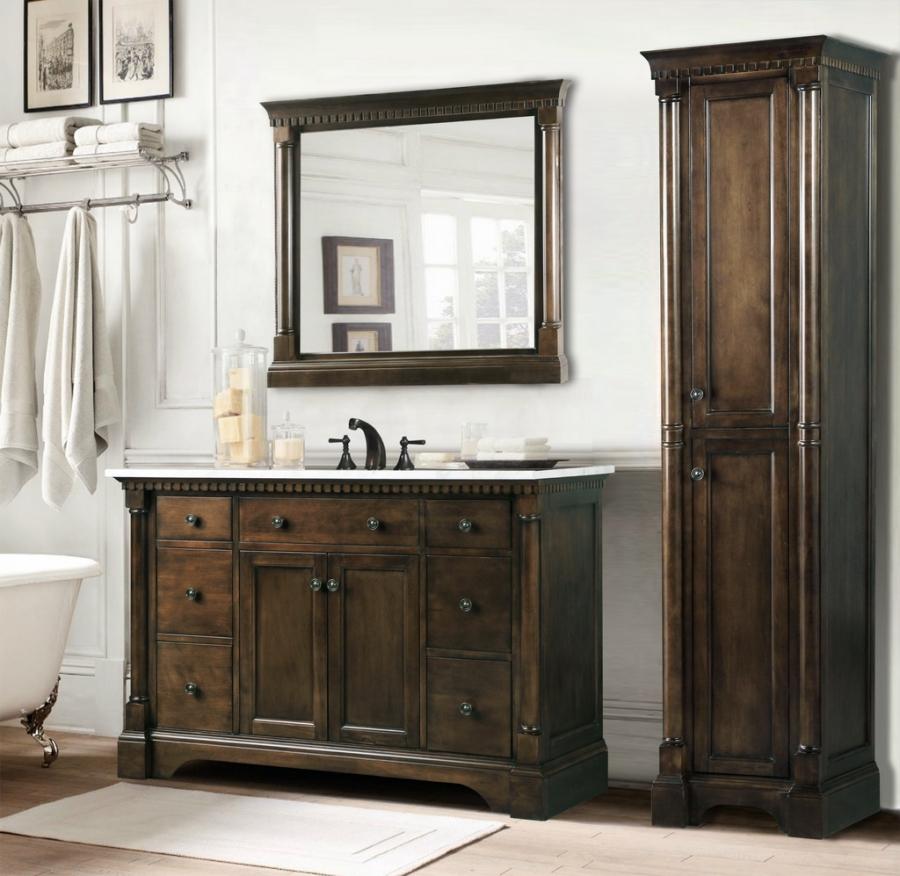 48 Inch Single Sink Bathroom Vanity In