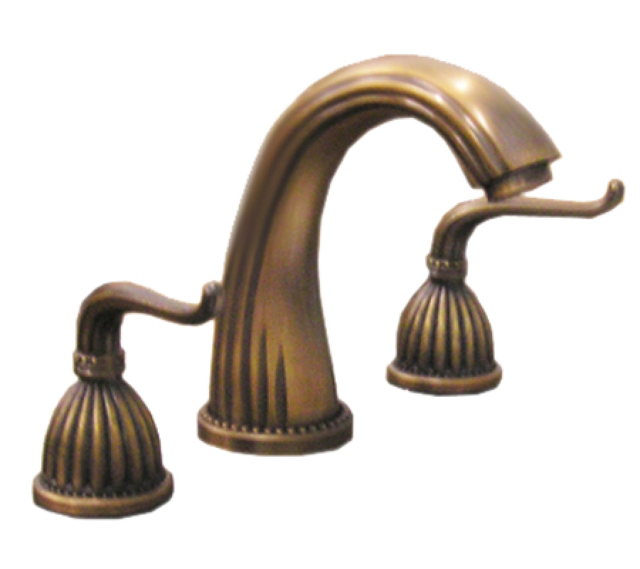Standard Inch Brass Bathroom Vanity Faucet UVLFZTAA - Dark bronze bathroom faucets