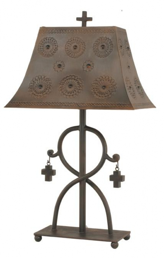 Barcelona Blessing Wrought Iron Table Lamp UVSLBARCER
