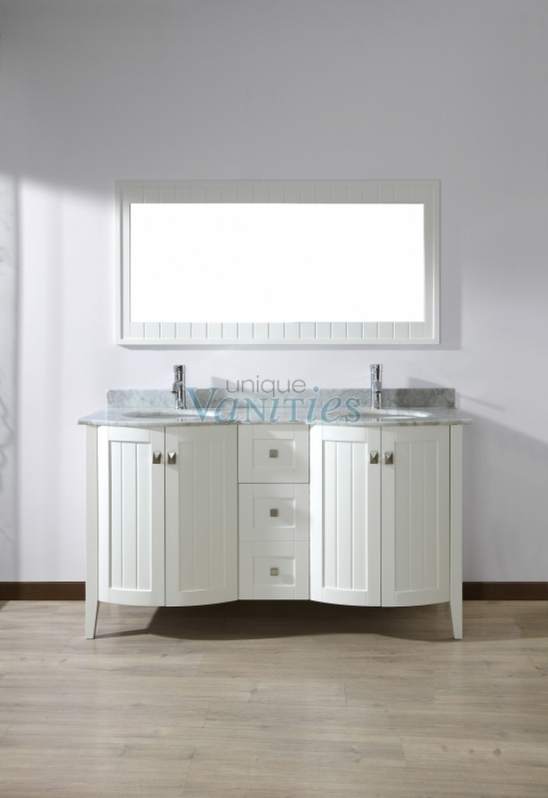 60 Inch Bathroom Vanity Single Sink: 60 Inch Double Sink Bathroom Vanity With Choice Of Top In