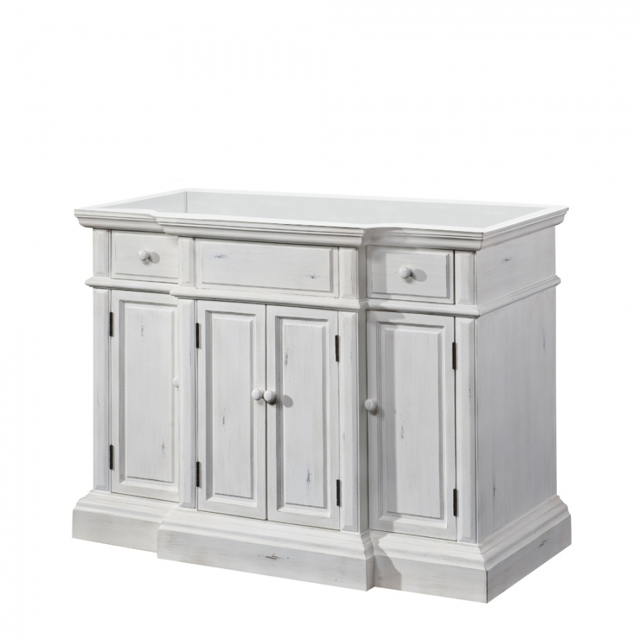 48 Inch Single Sink Bathroom Vanity With Choice Of No Top