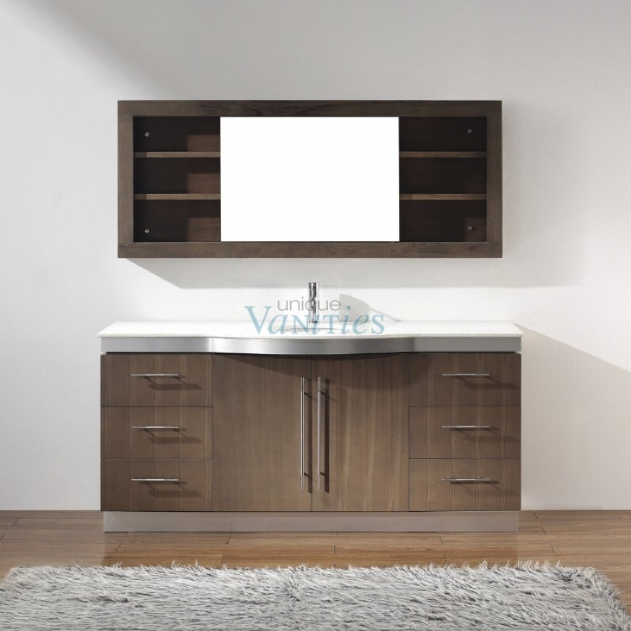 72 inch single sink bathroom vanity with choice of top in - 72 inch single sink bathroom vanity ...