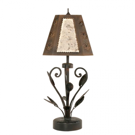 floral wrought iron table lamp uvslflorr. Black Bedroom Furniture Sets. Home Design Ideas