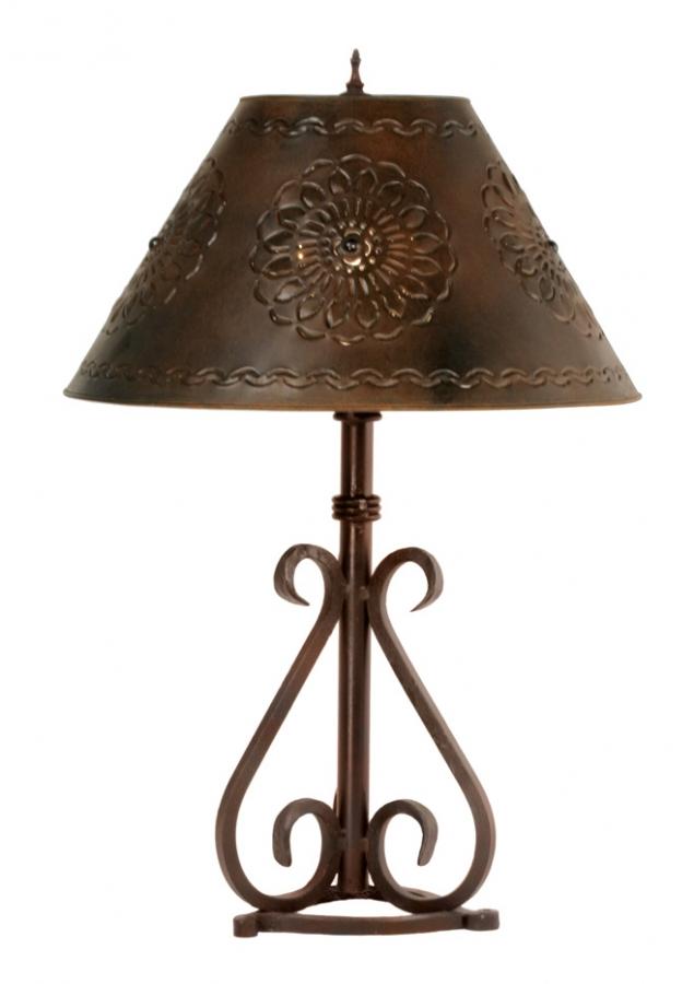 siena wrought iron table lamp uvslsnar. Black Bedroom Furniture Sets. Home Design Ideas