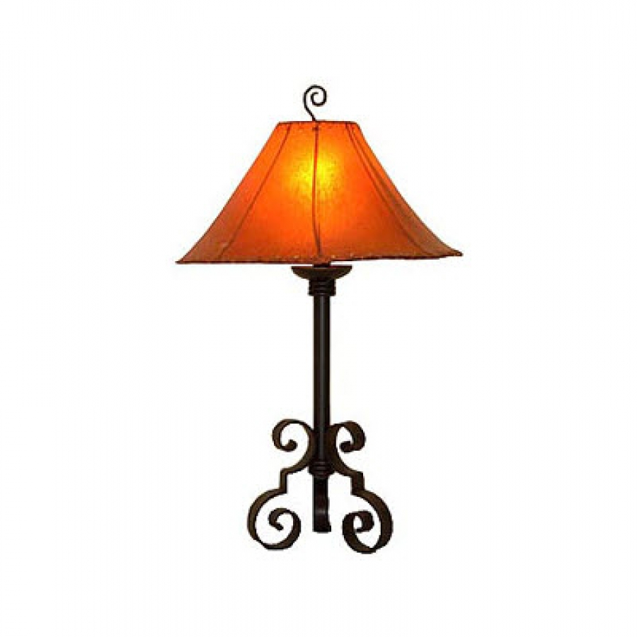 hand made wrought iron table lamp uvagtl003. Black Bedroom Furniture Sets. Home Design Ideas