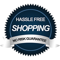 Hassle Free Shopping No Risk Guarantee