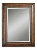 Uttermost Rowena Two Tone Wood Rectangular Mirror