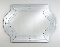 Radiance Contemporary Unique Glass Mirror