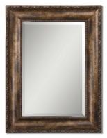 Uttermost Leola Antiqued Bronze Wash Rectangular Mirror