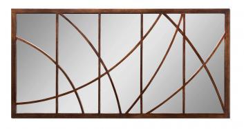 Loudon Distressed Bronze Rectangular Mirror