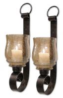 2 Piece Joselyn Small Candle Wall Sconces
