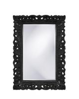 Barcelona Rectangular Glossy Black Mirror