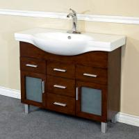 39.8 Inch Single Sink Bathroom Vanity with Soft Close Hinges