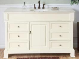 Bellaterra Home 50 Inch Single Sink Bathroom Vanity