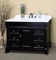 60 Inch Single Sink Bathroom Vanity in Dark Espresso