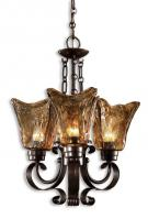 Vetraio 3 Light Oil Rubbed Bronze Chandelier