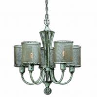 Pontoise 5 Light Vintage Chandelier