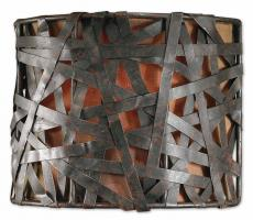 1 Light Wall Sconce in Aged Black