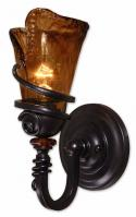 Uttermost 1 Light Wall Sconce in Oil Rubbed Bronze