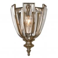 Vicentina 1 Light Beveled Crystal Wall Sconce
