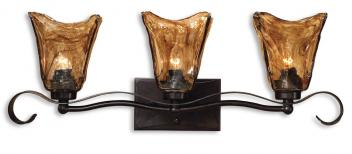 3 Light Vanity Strip Lightingin Oil Rubbed Bronze