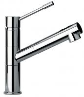 Single Hole Kitchen Faucet with Finish Option