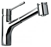 Single Hole Kitchen Faucet with Pull Out Spray Head